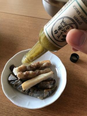 食いしん坊さんの白糸唐辛子のグリーンペッパーソース口コミ・レビュー1