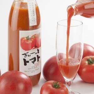 【北海道産ミディートマトジュース】ぎゅーっとトマトプレミアム (1000ml x 2本セット)