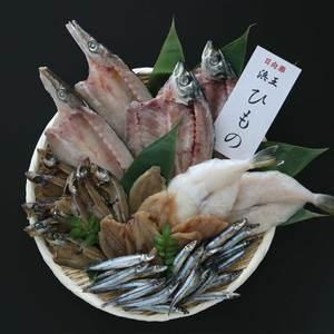 浜王の干物セット (レギュラー)