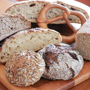 国産有機小麦100%の全粒粉オーガニックパンおまかせセット (LL)