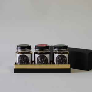 食べる醤油3種ギフトセット