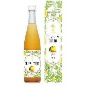 生フルーツ黒酢 ゆず (500ml)
