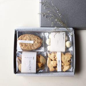 秋のお菓子箱 (箱のサイズ:15×20×3㎝)