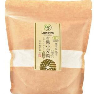 小麦粉 (強力粉: ミナミノカオリ) 精白 [無農薬・無化学肥料・有機JAS認定] (400g)