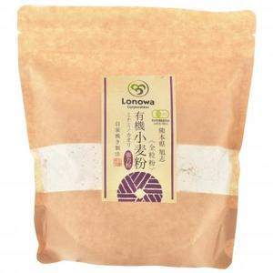 小麦粉 (強力粉: ミナミノカオリ) 全粒粉 [無農薬・無化学肥料・有機JAS認定定] (400g)