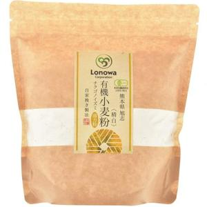 小麦粉 (薄力粉: チクゴイズミ) 精白 [無農薬・無化学肥料・有機JAS認定] (400g)