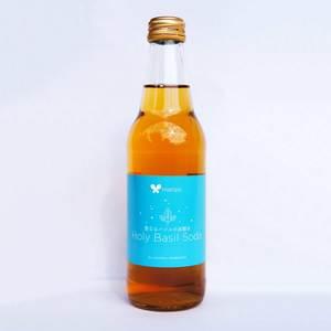 聖なるバジルの炭酸水 (340ml)