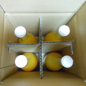 みかんジュース 無農薬・無化学肥料・無除草剤 (720mlx4本)