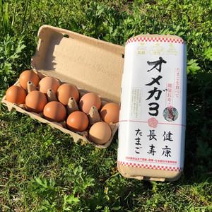 お多福たまご 卵ソムリエが育む放し飼い鶏卵 (1パック10個)