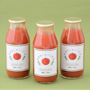 湘南無添加100%トマトジュース (お試しセット 180ml×3本)