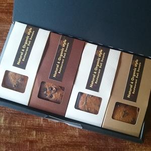 野山のクッキー人気の詰め合わせセット (4箱セット カモミール、ローズマリー、ラベンダー、山葡萄&オレンジフラワー)