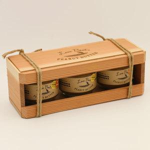 無添加  手作りピーナッツバター LoveBoat ギフトセット (100g×3)