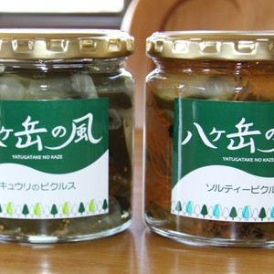 ピクルスセット(キュウリ+ソルティー)【農薬不使用 】 (キュウリのピクルス 270g  ×1・ソルティーピクルス 270g ×1)